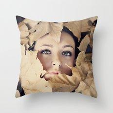 Welcome autumn Throw Pillow