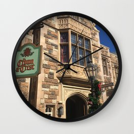 The Crown & Crest Wall Clock