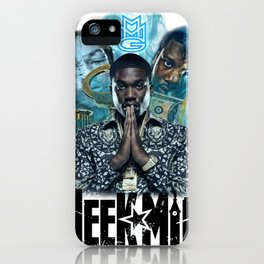 Meek Mill Collage iPhone Case