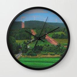Cross Roads Wall Clock