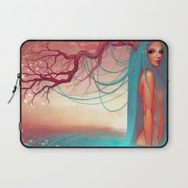 The muse of the lake Laptop Sleeve