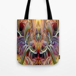 Alien Candle Light Fx  Tote Bag