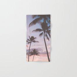 Pastel Palm Trees Hand & Bath Towel