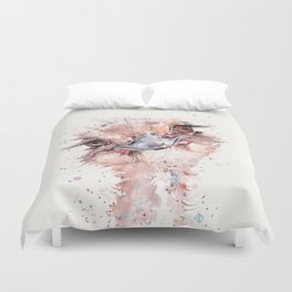 Who Me? (Emu) Duvet Cover
