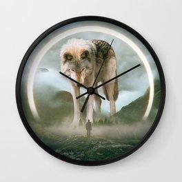 aegis | wolf Wall Clock