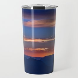Colorful Sunset - North_Rim, Grand_Canyon, AZ Travel Mug