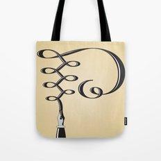 Alphabet P Tote Bag
