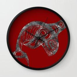 Smoke Keét Blood Wall Clock