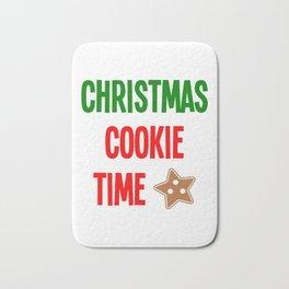 Christmas Cookie Time Merry Christmas Bath Mat