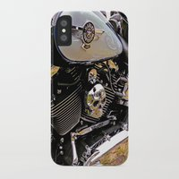 motorbike iPhone & iPod Cases featuring  Motorbike  by Scenic View Photography