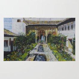 Palacio de Generalife Rug