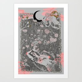 Fragrance of Light Art Print