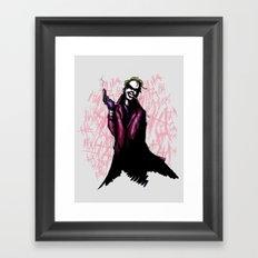 Clown Prince Framed Art Print