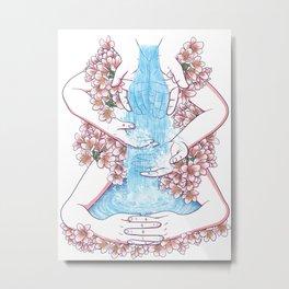 Like water through my hands Metal Print