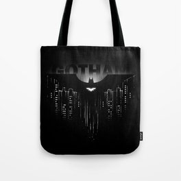 Dark Rain Tote Bag