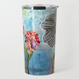 Rose Water Sky Travel Mug