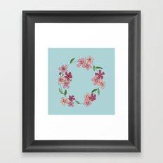 Forget Me Not Framed Art Print