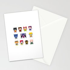 Pixel X-Men Stationery Cards