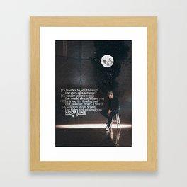 Kodaline - Shed A Tear Framed Art Print