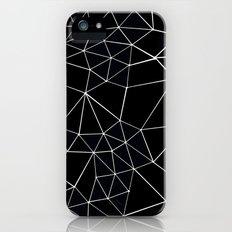 Segment Zoom Black and White Slim Case iPhone (5, 5s)