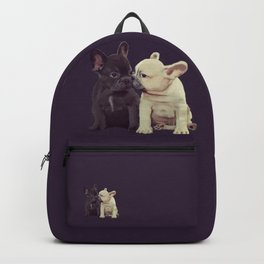 Frenchie kiss Backpack