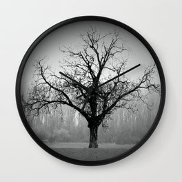 Creepy Tree Wall Clock