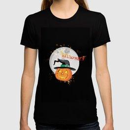 Halloween's pumpkin T-shirt