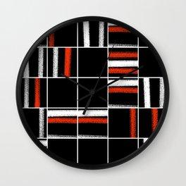 Zen tartan Wall Clock