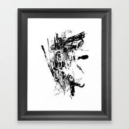Spider #02 - Black and White Abstract Art, Art Prints Framed Art Print