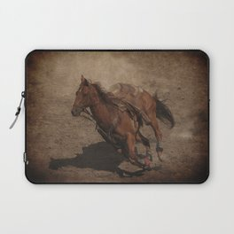 Break Away Rodeo Horse Laptop Sleeve
