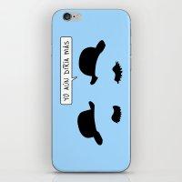 tintin iPhone & iPod Skins featuring Tintin: Thomson and Thompson by dutyfreak