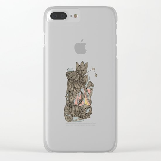 - the plan - Clear iPhone Case