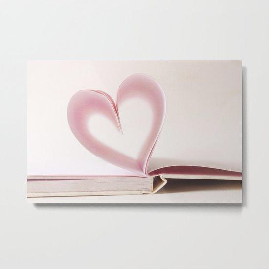 Valentine Pastel Heart  Metal Print