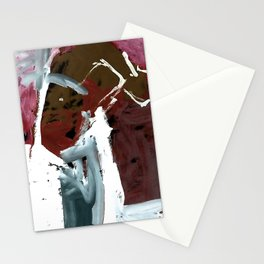 Those who dance with the sled dogs Stationery Cards