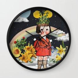 Keep Dreaming Girl Wall Clock