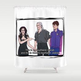 My Boyfriend's boyfriend Shower Curtain