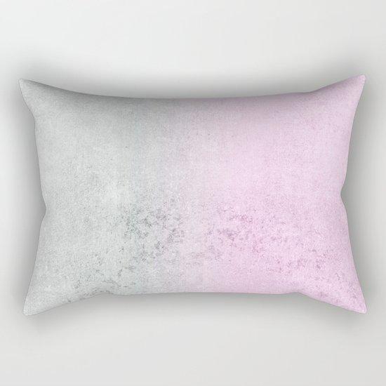 FADING CONCRETE PINK Rectangular Pillow