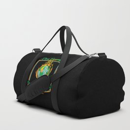Don't Worry! Everything is gonna be just fine! Duffle Bag