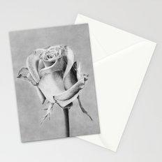 Rose Flower Stationery Cards