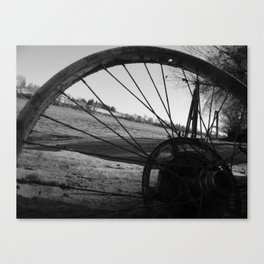 Riverside Shadowed Canvas Print