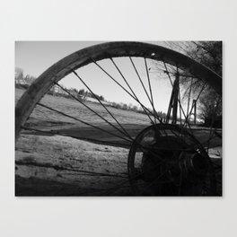 Riverside Shadowed Canvas Print