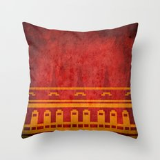Journey Pattern Throw Pillow