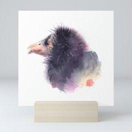 California condor Mini Art Print