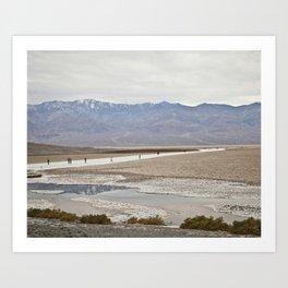 Badwater Basin, Death Valley, CA Art Print