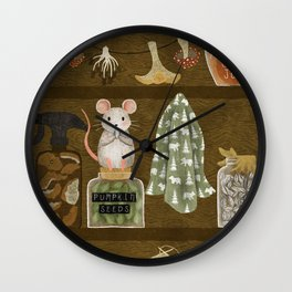 pantry shelf Wall Clock