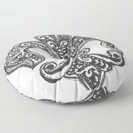 Fleur de Lis Floor Pillow