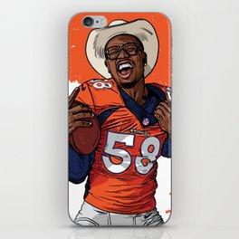 CowboyVon iPhone Skin