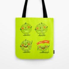 Lime emotions  Tote Bag