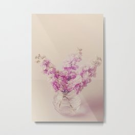 Lilac Stocks  Metal Print