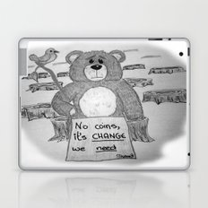 Sad bear 2 Laptop & iPad Skin